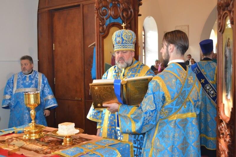 Престольный праздник в храме Всех скорбящих Радость г. Благовещенск