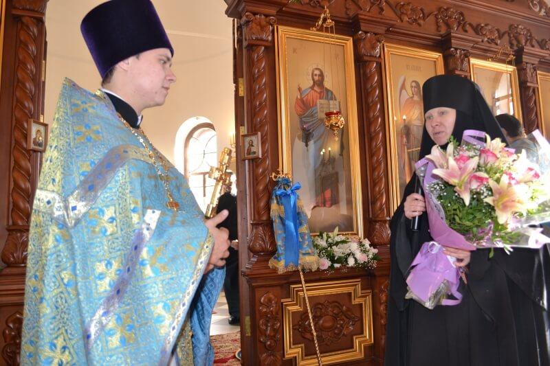 Отец Евгений Семерня и монахиня Нила (Семерня)